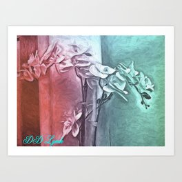 The Color of Love Art Print