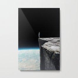 On the edge ... Metal Print