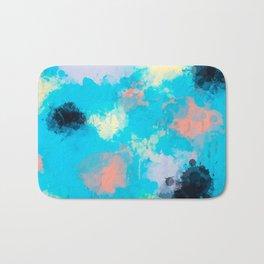 Abstract Paint splatter design Bath Mat