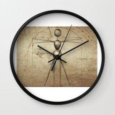 Vitruvian AntWoman Wall Clock