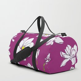 Magnolia Raspberry Duffle Bag