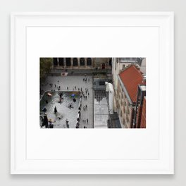 Paris Pompidou Color Framed Art Print