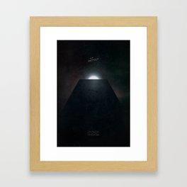 2001 A Space Odyssey alternative movie poster Framed Art Print