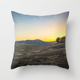 Sunset at Tuttletown Throw Pillow