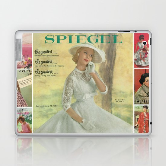 1957 Spring/Summer Catalog Cover Laptop & iPad Skin