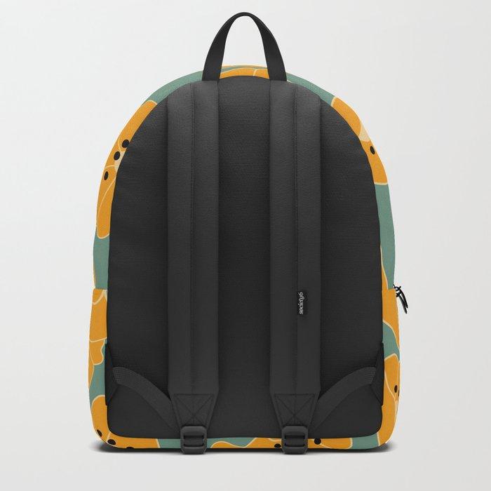 Retro bloom 003 Backpack