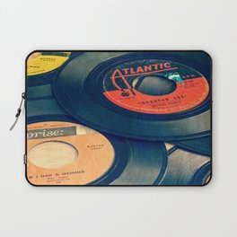 Take those old records off the shelf Laptop Sleeve