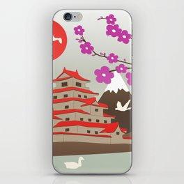 Japanese Pagoda iPhone Skin