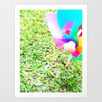 plain Art Prints featuring Plain Sight by Rachel