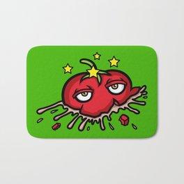 Smashed Tomato Bath Mat