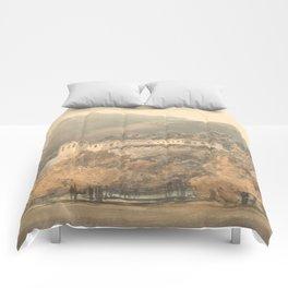 "J.M.W. Turner ""Santa Lucia, A Convent near Caserta"" Comforters"