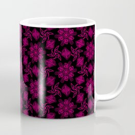 Crystal Space Flowers Coffee Mug