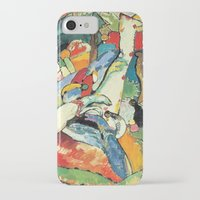 "kandinsky iPhone & iPod Cases featuring Vasily Kandinsky Sketch for ""Composition II"" by Artlala for MSF Doctors Without Borders"