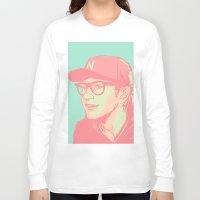 bubblegum Long Sleeve T-shirts featuring Bubblegum by Rosketch