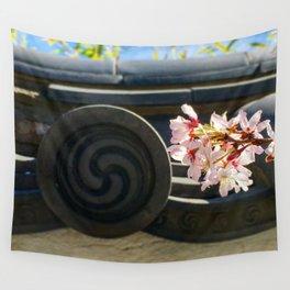 Spring at the Shofuso Wall Tapestry