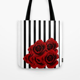 Prohibited roses Tote Bag