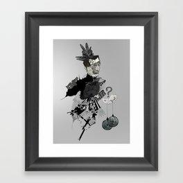 My interrogation? Framed Art Print