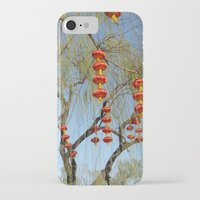 lanterns iPhone & iPod Cases featuring Lanterns by Muel