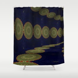 Iconic Hollows 15 Shower Curtain