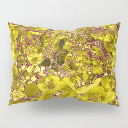 Marble Solar Gold Pillow Sham