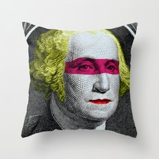 intervention Throw Pillow