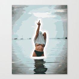 FUn in the Water Canvas Print