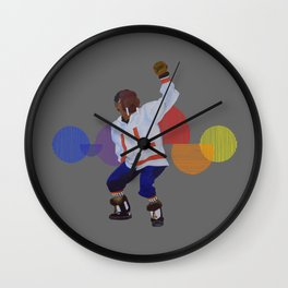 Walrus Dancer Wall Clock