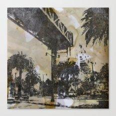 The Embarcadero on mylar  Canvas Print