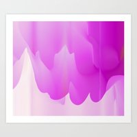 Paint Dripping 2 Art Print