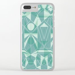 Nordic Combination 34 Clear iPhone Case