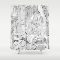 meditation Shower Curtains featuring Meditation by Dorothy Pinder