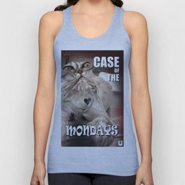 Case of the Mondays - CAT Unisex Tank Top