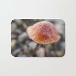 Tiny orange mushroom 2 Bath Mat