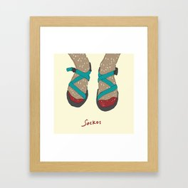 sockos Framed Art Print
