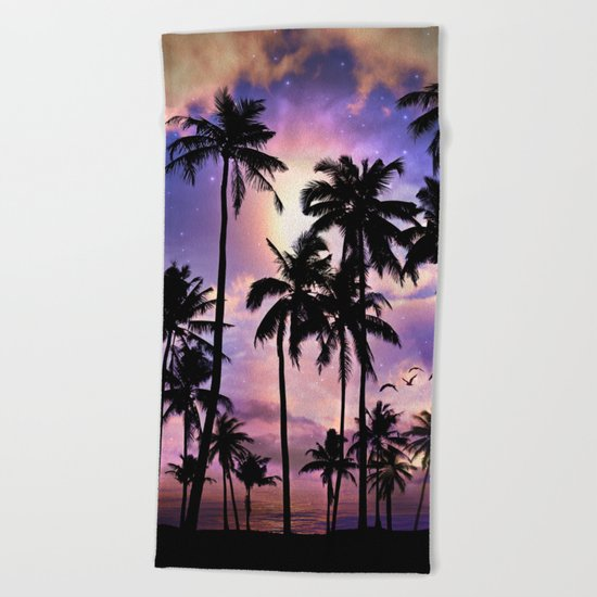 Smell the Sea Feel the Sky Beach Towel