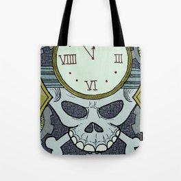 Death Clock Tote Bag