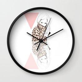 FUR FUREUR Wall Clock