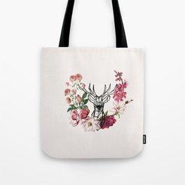 stag in bush Tote Bag