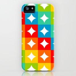 Midcentury Diamonds iPhone Case