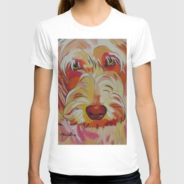Labradoodle Pop Art Dog T-shirt