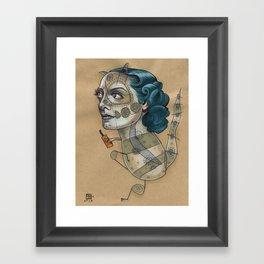 SUGAR DRAGON Framed Art Print