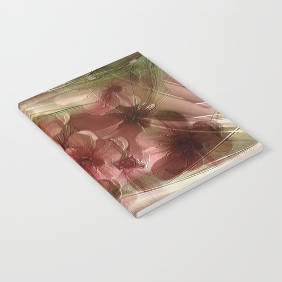 Flower Garden Abstract Notebook