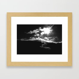 Reflecting in Unconscious Revery Framed Art Print