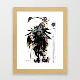 S Kid Framed Art Print