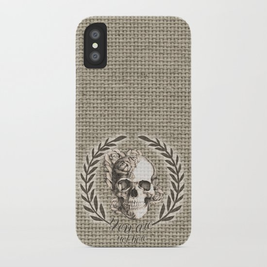 You are not here iPhone Case