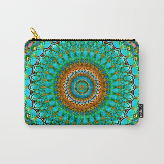 Geometric Mandala G388 Carry-All Pouch