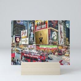 Times Square II Mini Art Print
