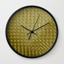 Raindrops pattern sepia Wall Clock