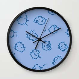 Elephants! Wall Clock