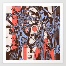 Modern Macabre Art Print